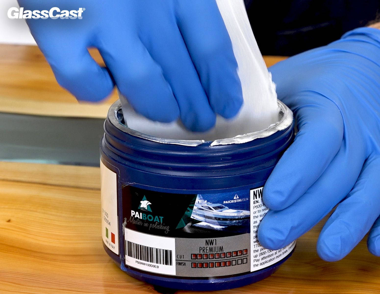 NW1 Super Cutting Compound – for Polishing Epoxy Resin - GlassCast Resin